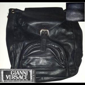 37b0bddaaa GIANNI VERSACE Made in Italy Medusa Backpack